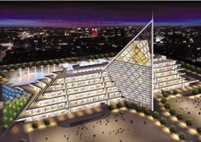 Tianjin Binhai Teda Mall - terminal project