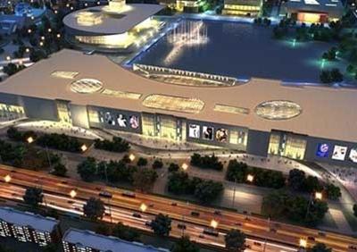 Tianjin Galaxy Mall - terminal project