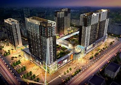 Zhoupu Wanda Plaza - Water System Engineering